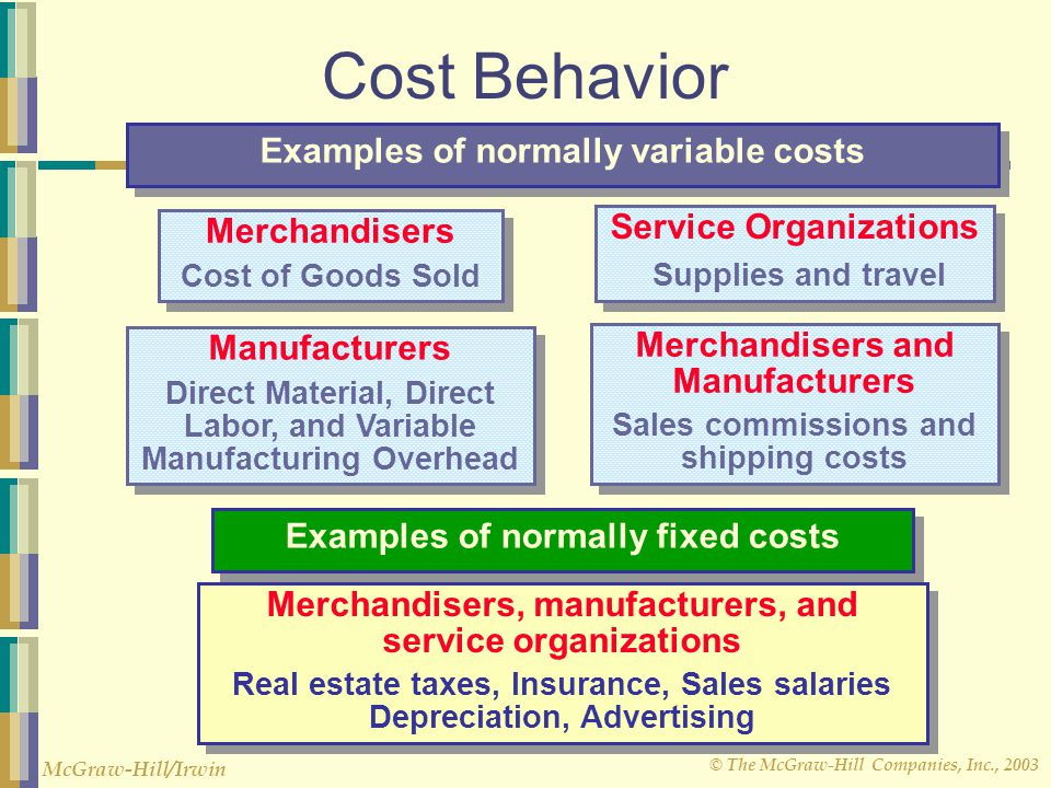 """classification of cost behavior variable or Preface to cost accounting standard board 1 introduction """"classification of cost"""" semi-variable or variable v."""