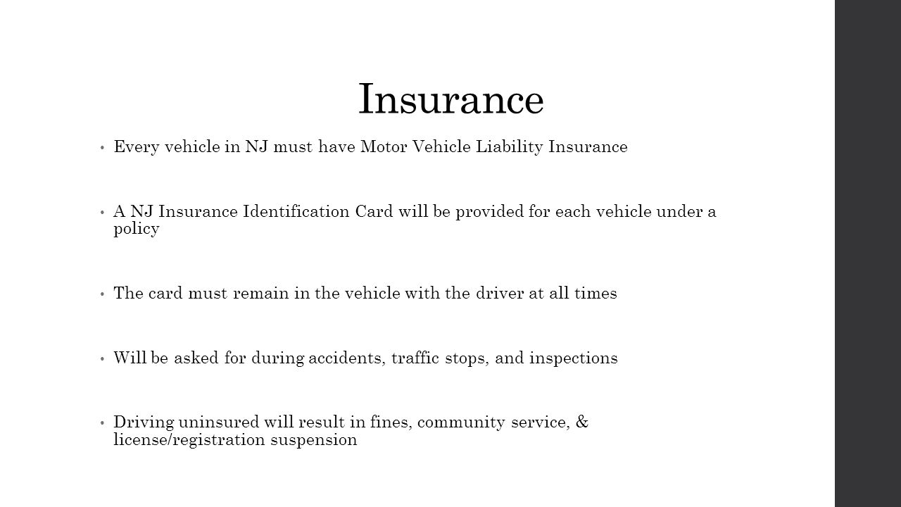 Chapter 9 vehicle information ppt download for Motor vehicle suspension nj