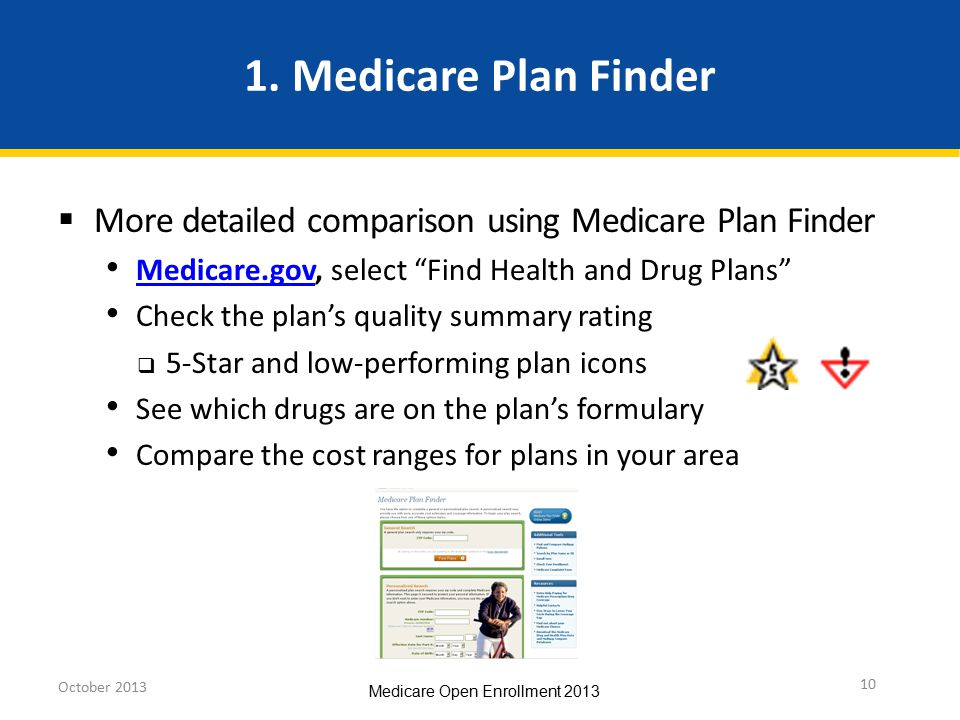 Medicare Open Enrollment - ppt download