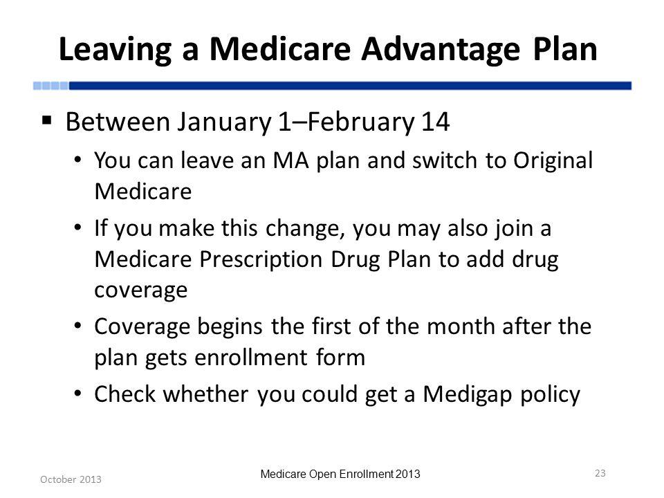 Medicare Open Enrollment Ppt Download