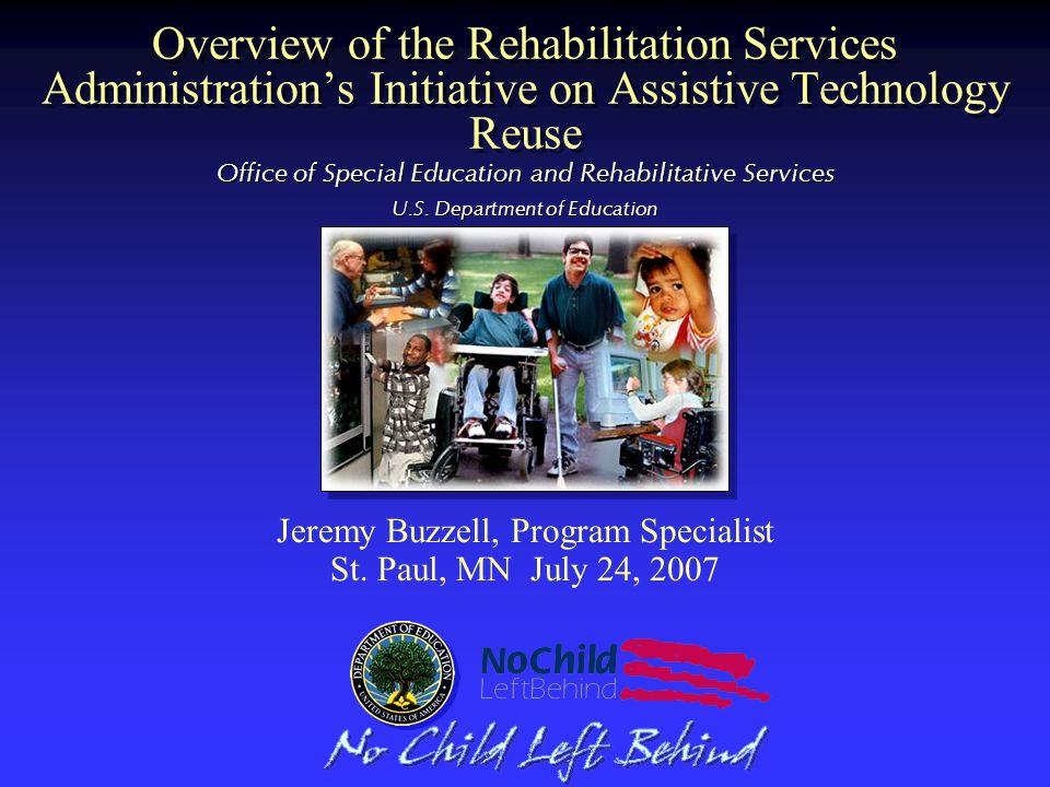 Jeremy Buzzell, Program Specialist St. Paul, MN July 24, 2007