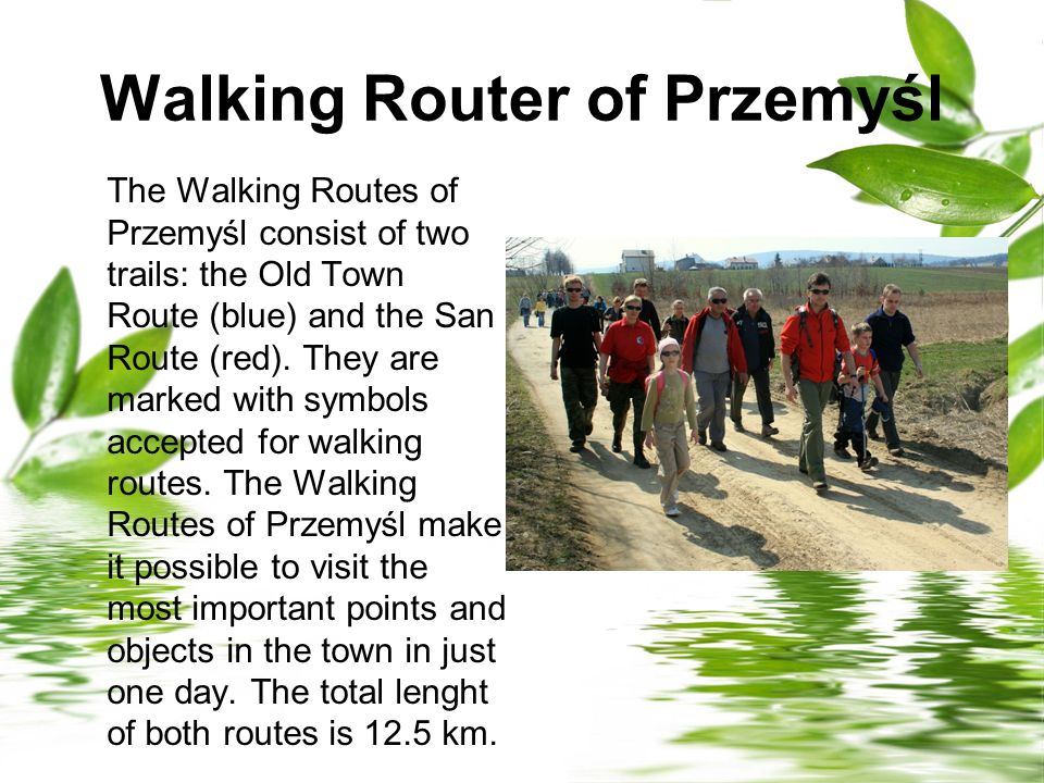 Walking Router of Przemyśl