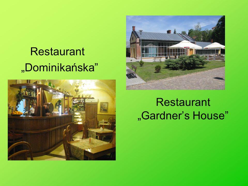 """Restaurant """"Gardner's House"""