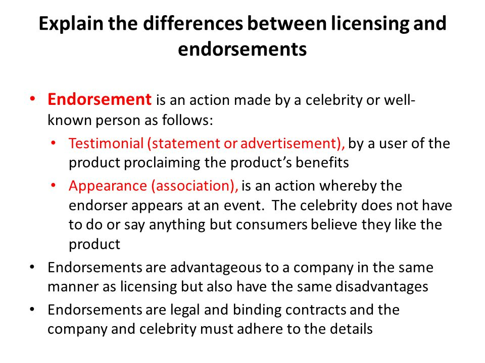 17 Product Endorsement Advantages and Disadvantages ...