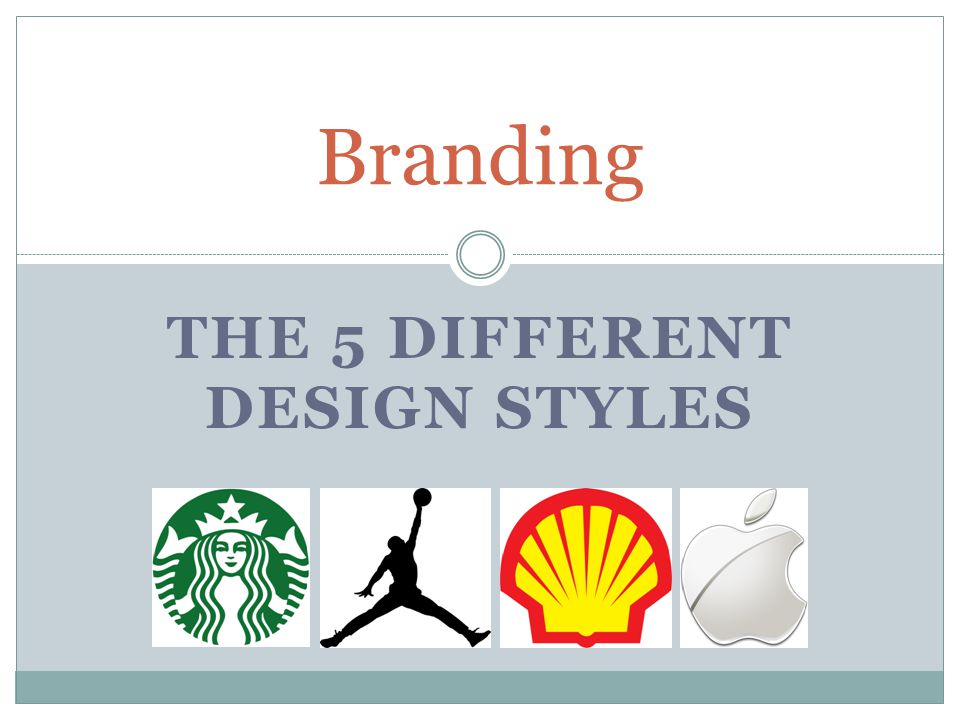 the 5 different design styles - ppt download