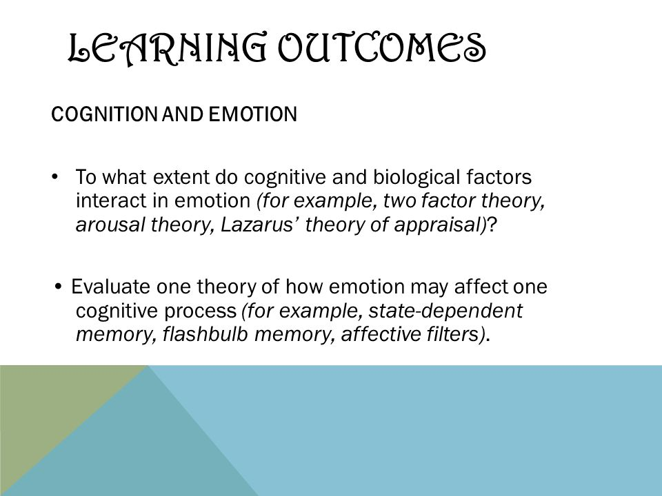 to what extent does cognition controls emotion Consistent with the notion that task load was important in determining the extent of and cognitive control attention and emotion on.
