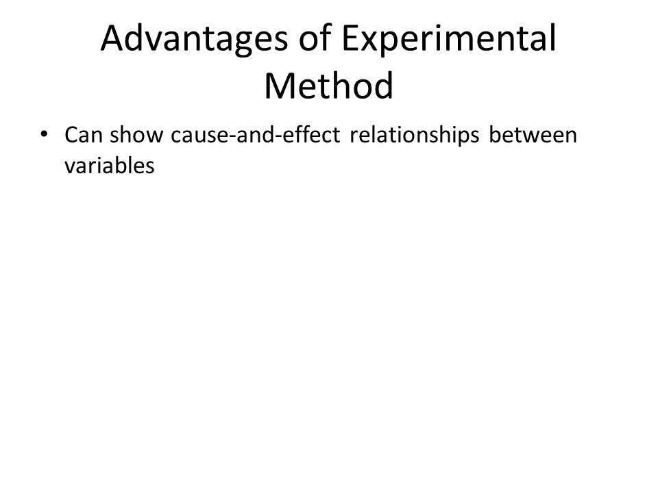 advantages of scientific method Discuss the disadvantages of the use of the scientific method in psychology   a disadvantage of the scientific method in relation to psychology is that its.