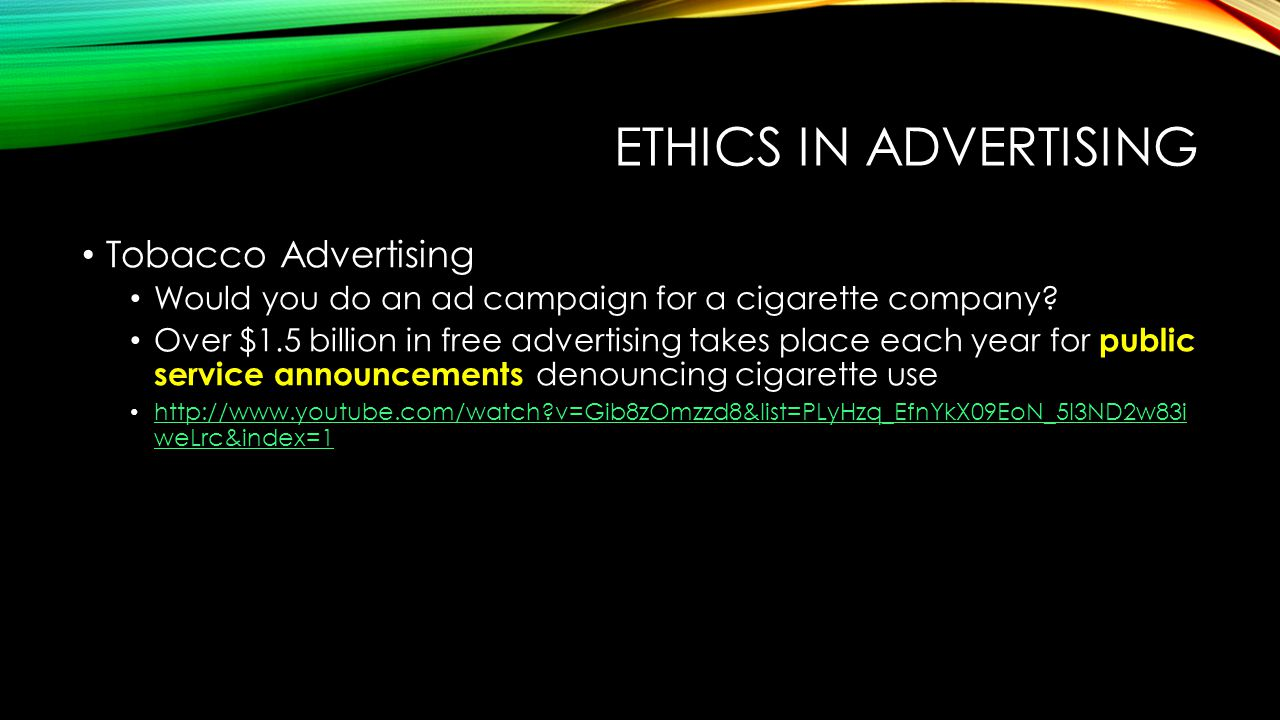 morality in advertising Morality in advertising introduction morality in advertising ‗we make you  want, what you don't need' advertising has moved from the unique selling.