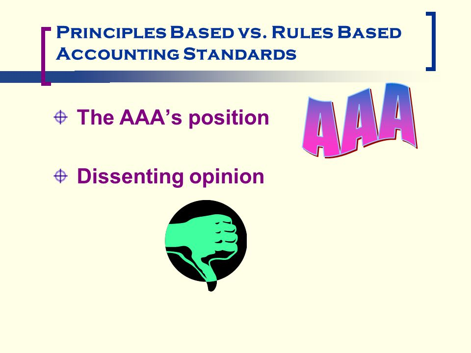 rule base and principle base accounting What are the key differences between ifrs and us principle-based and us gaap is more rule principles based accounting standard in contrast to.