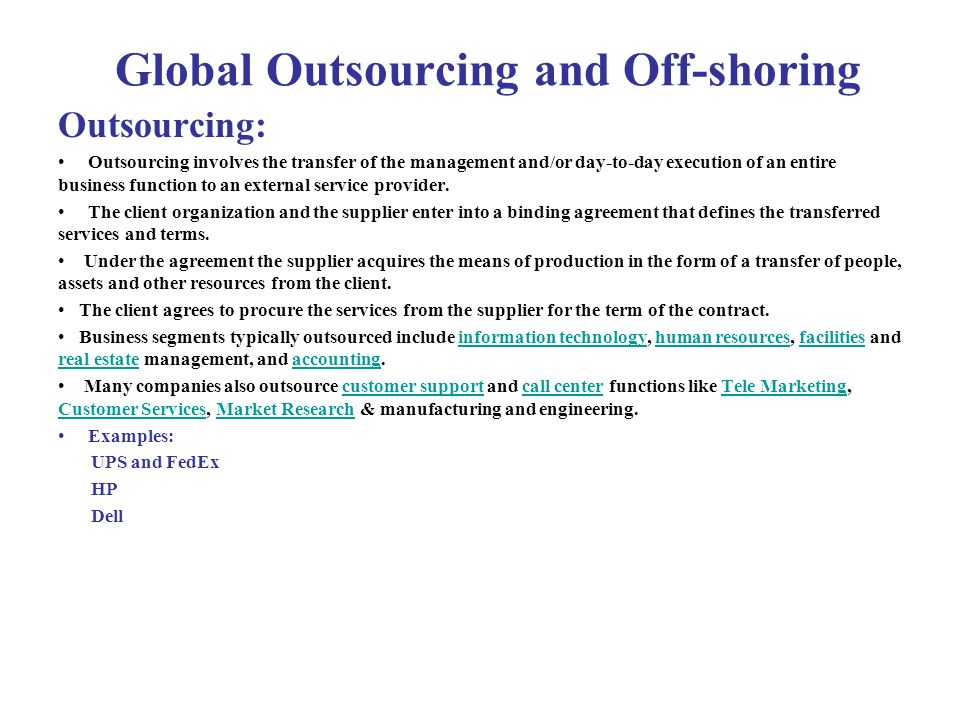 outsourcing off shoring Fill out your details below and we will connect you with the best bpo, outsourcing or offshore provider for your needs.