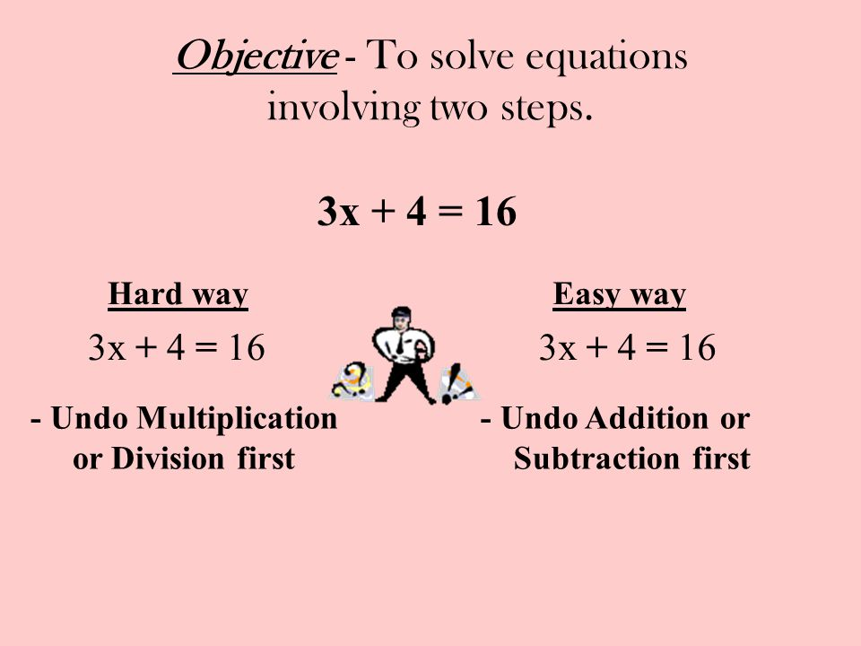 how to solve hard equations