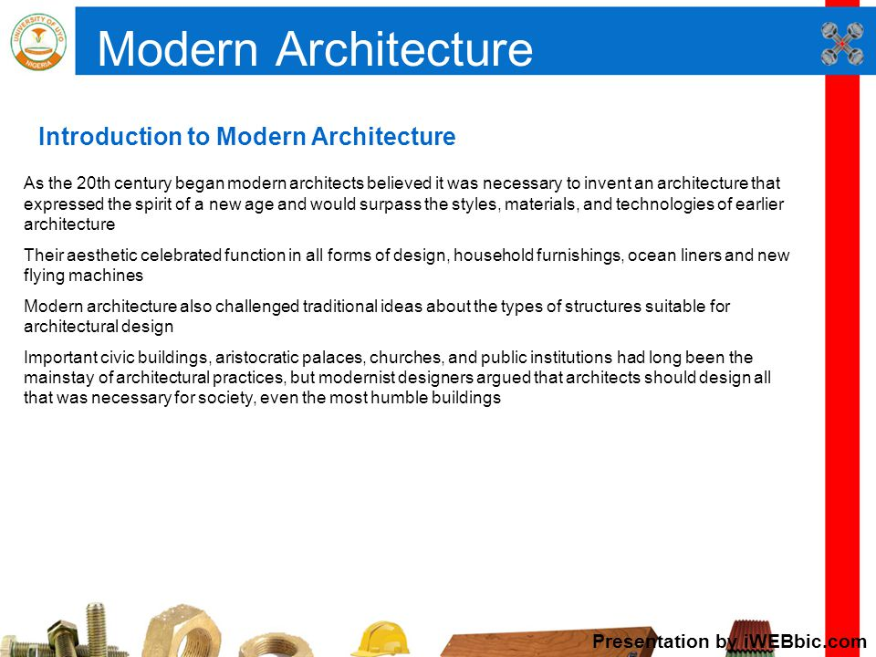 INTRODUCTION TO ARCHITECTURE - ppt video online download