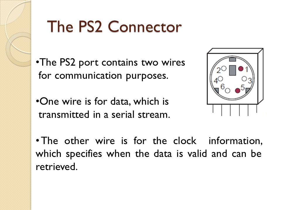 The+PS2+Connector+The+PS2+port+contains+two+wires keyboard wire color ps2 keyboard wire color wire diagrams