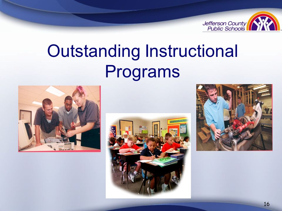 Outstanding Instructional Programs