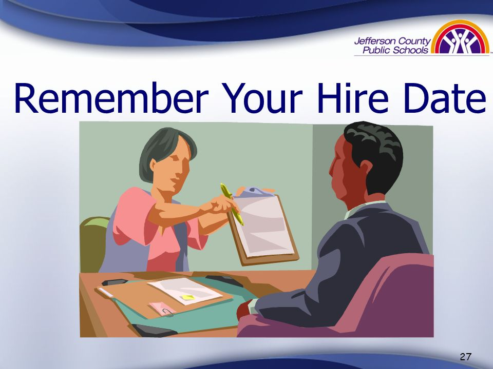 Remember Your Hire Date
