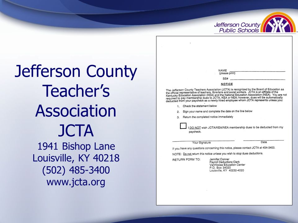 Jefferson County Teacher's Association
