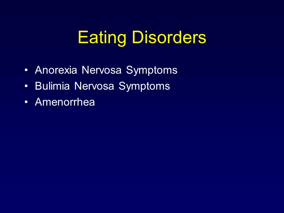 the symptoms and treatment of bulimia nervosa an eating disorder Get trusted info on all bulimia treatments treatment for bulimia nervosa covers medical, drug, nutritional, psychological treatments of bulimia.
