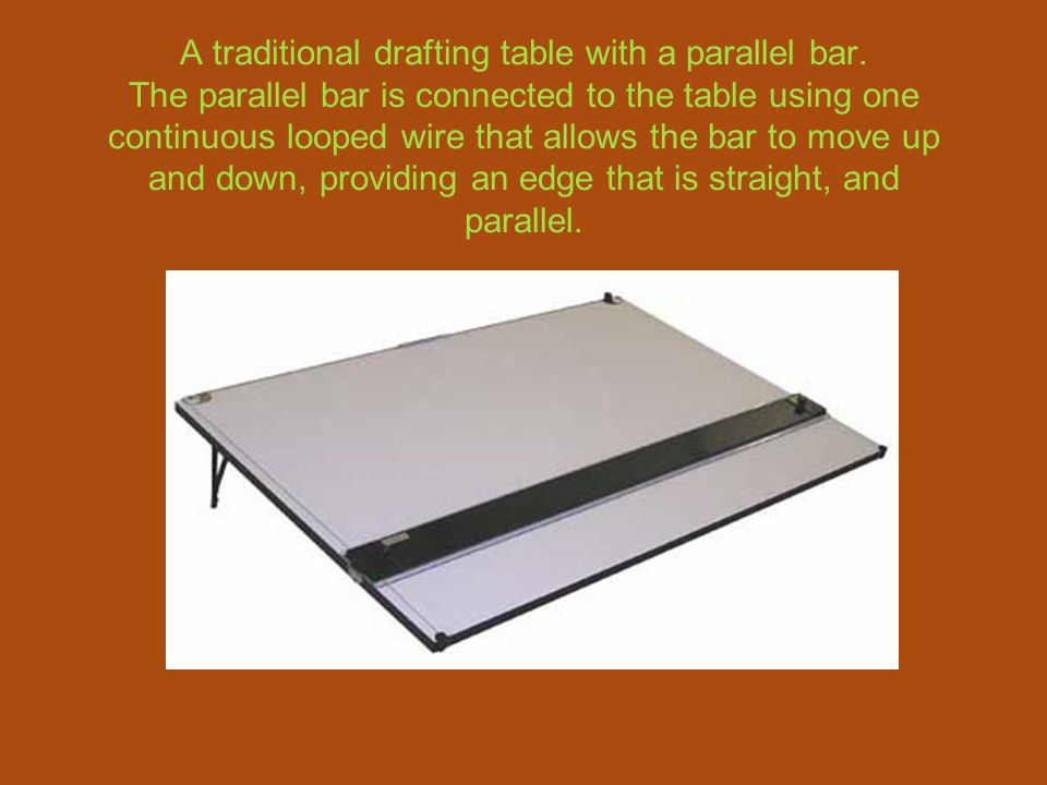 Drafting Board With Parallel BarStudio Designs Aries