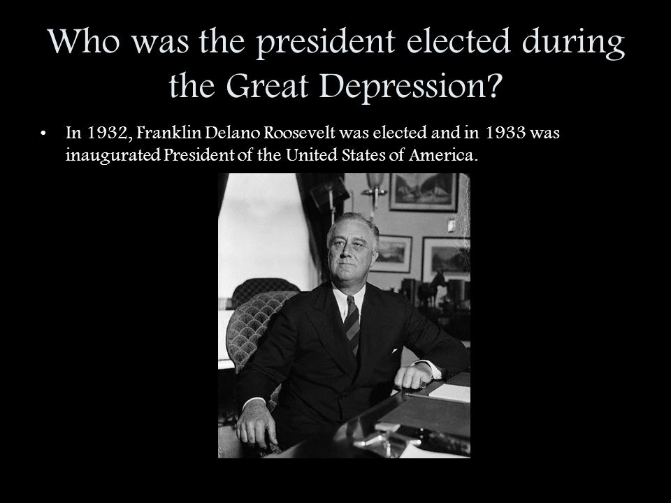 the great depression in the united states of america A democrat who became united states president in 1933 his program to alleviate the problems of the great depression became known as the new deal and he remained.
