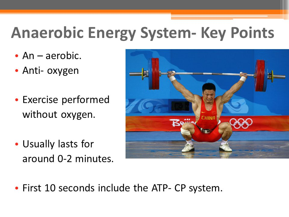Training Power Systems: Anaerobic And Aerobic Training Methods!