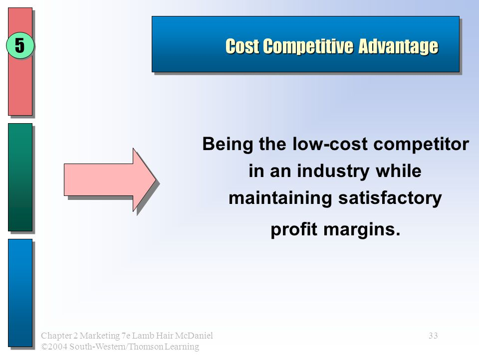 competitive advantage erosion Now look inside the firm for the sources of sustained competitive advantage and performance  current level of capability is determined by both creation and erosion.