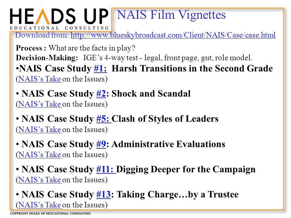 Case study vignettes making a diagnosis