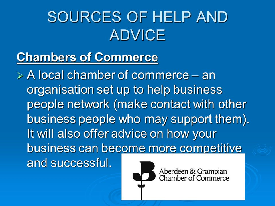 sources of financial advice and guidance Guidance about you about hse contact hse accessibility text size: competence - information of sources of advice health and safety advisers and the help they.