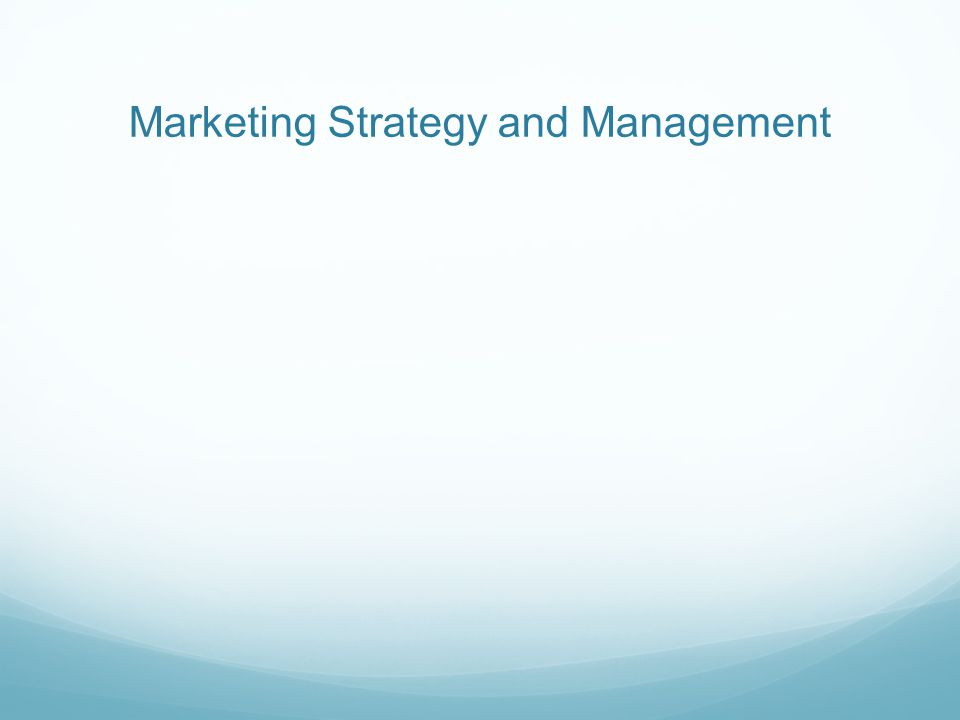 strategic management and marketing Strategic marketing management helps organizations to organize their marketing activities to align with the organizations' business goals.