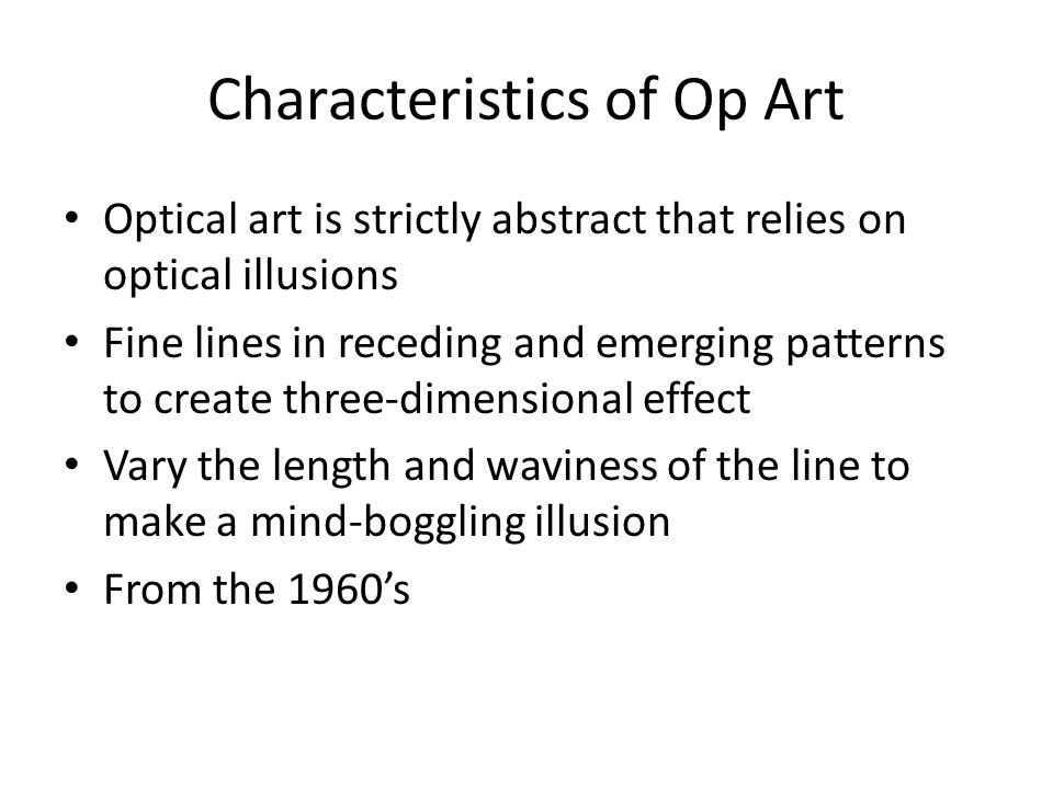 Characteristics Of Line In Art : Late twentieth century art today ppt video online download