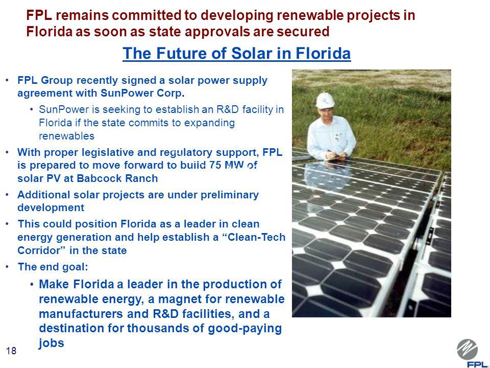 Florida Power And Light Careers Florida Power Light Company Next Generation  Solar Energy . Florida Power And Light Careers ...