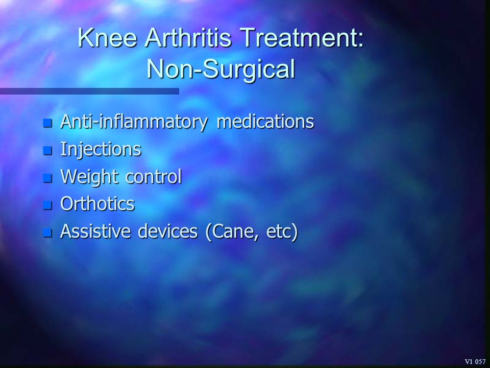 Knee Arthritis Treatment: Non-Surgical