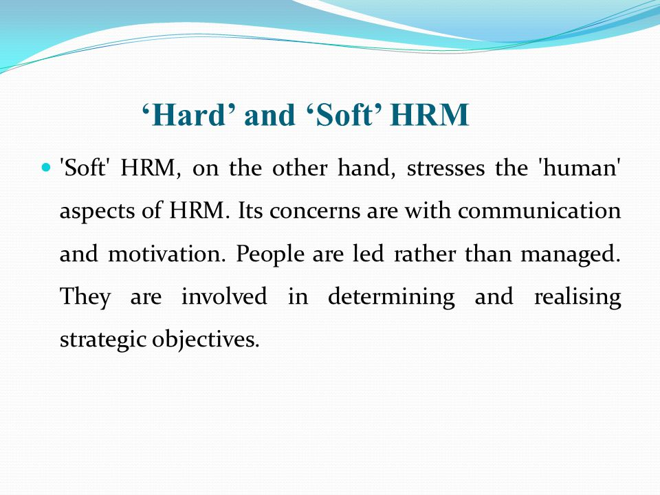 hard and soft human resource planning Some of the steps that may be taken to improve the effectiveness of human resource planning are given below: steps 1 objectives: the hr plan must fit in with the overall objectives of the organisation.