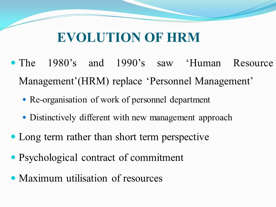 Psychological Contract in HRM HR Management