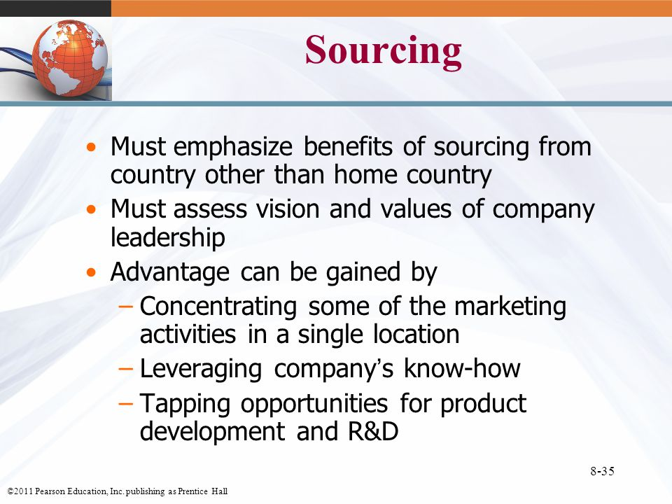 Importing exporting and sourcing ppt download 35 sourcing fandeluxe Gallery