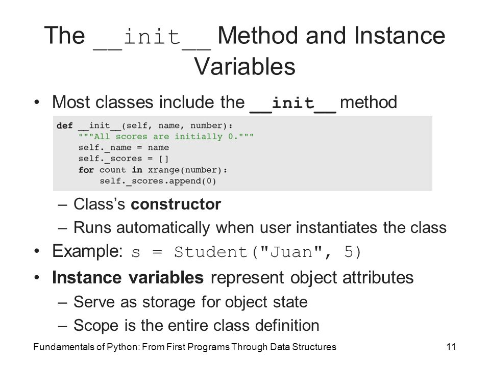 python how to call class on object
