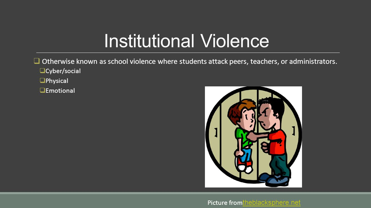 Institutional Violence