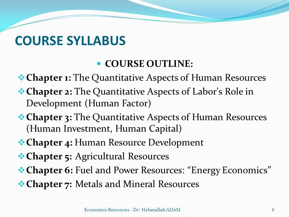 economics syslabus The syllabus, assessment and reporting information, past hsc exam papers, and other support materials for the economics course.