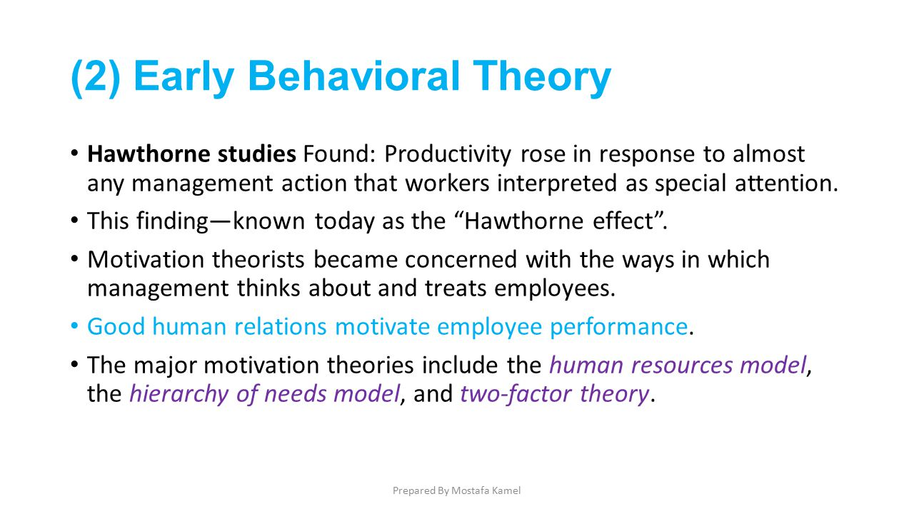 findings of hawthorne studies P 259 in the hawthorne studies employees which of the following statements about worker motivation is most consistent with the findings of the hawthorne studies.