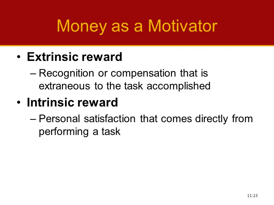 money as a motivator The money motivator has 9 ratings and 1 review quick tips for success with your  personal finances.