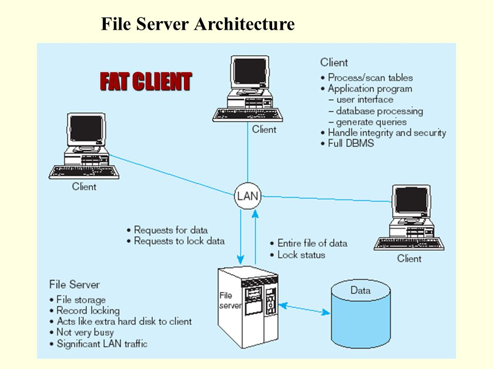 the client server database environment ppt download