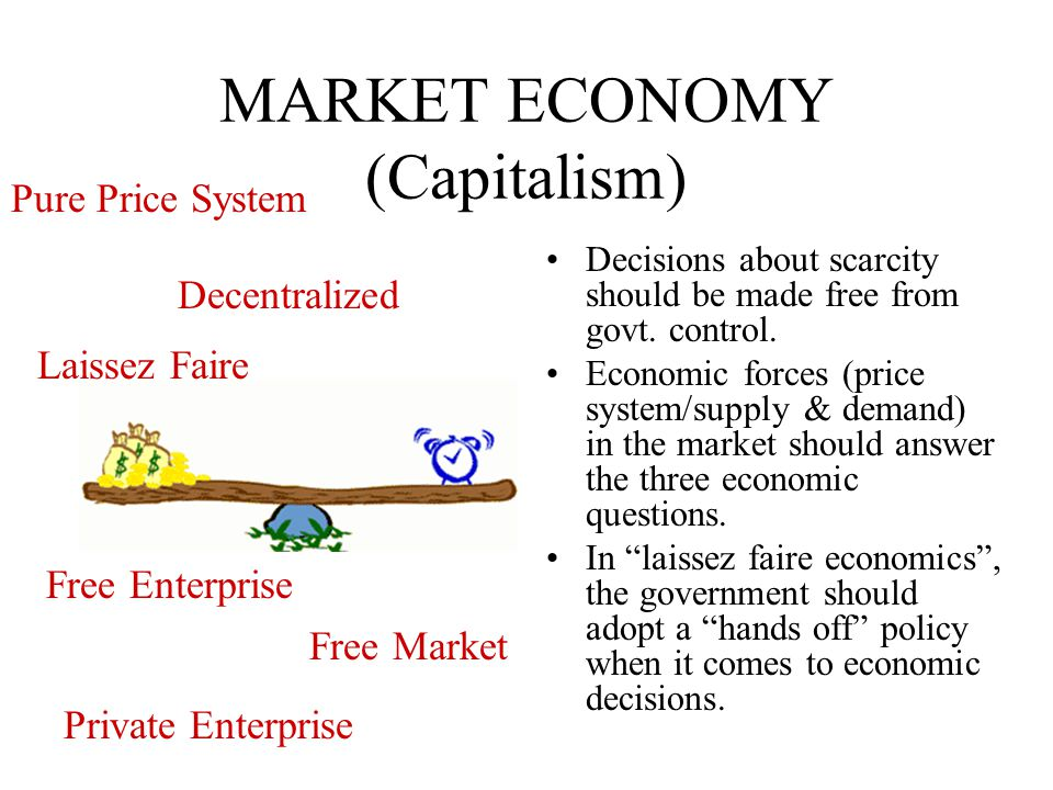 economic systems market economy The third system, that in which the market mechanism plays the role of energizer and coordinator, is in turn marked by a historical attribute that resembles neither the routines of traditional systems nor the grandiose products of command systems instead, the market system imparts a galvanic charge to economic life by.