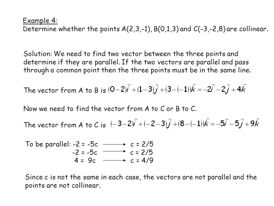 Chapter 7: Vectors and the Geometry of Space - ppt video online download