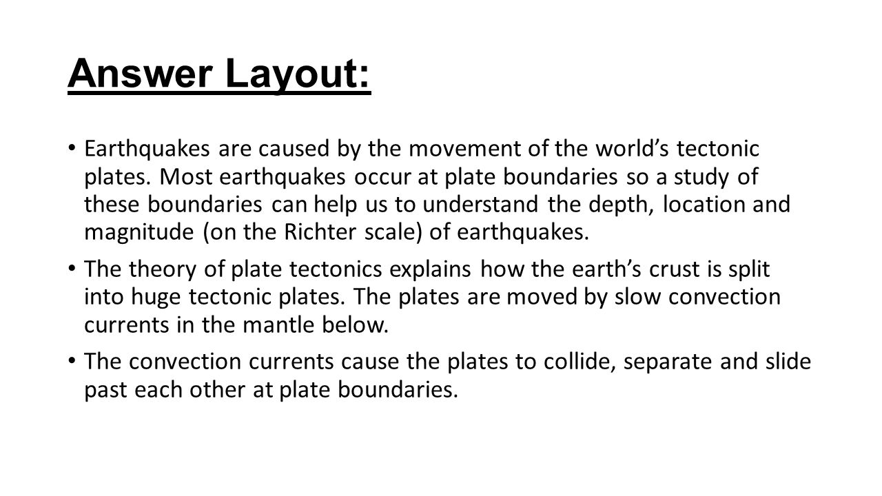 explain how plate tectonics can help The following overview describes how the rock cycle is affected when the rate of plate tectonic  to help earth's changing  windows2universeorg/ from the.