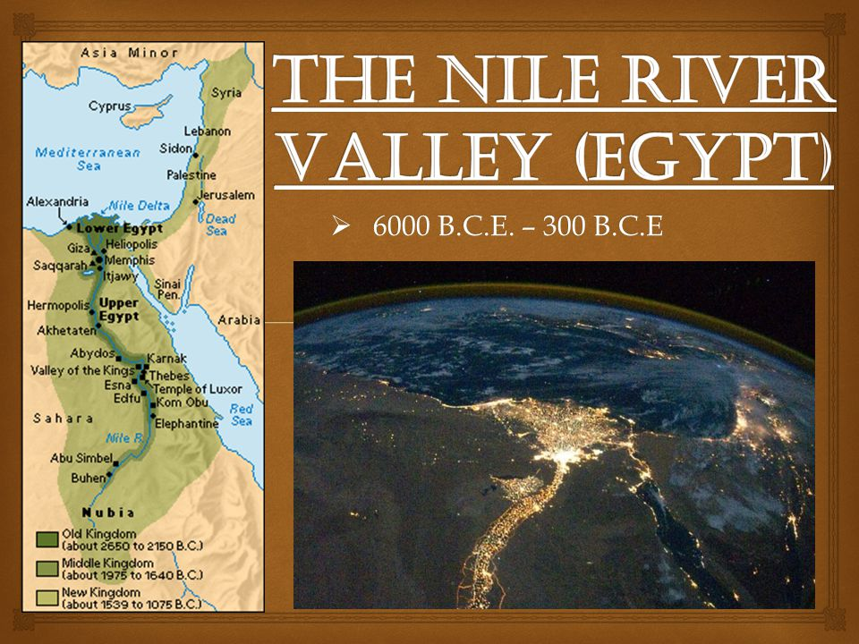 The Nile River Valley (Egypt)