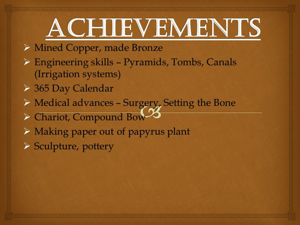 Achievements Mined Copper, made Bronze
