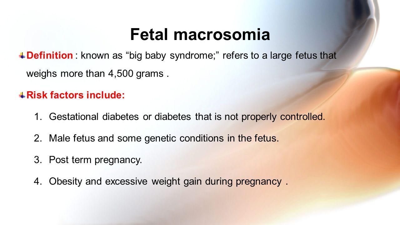 32 Fetal Macrosomia Definition ...