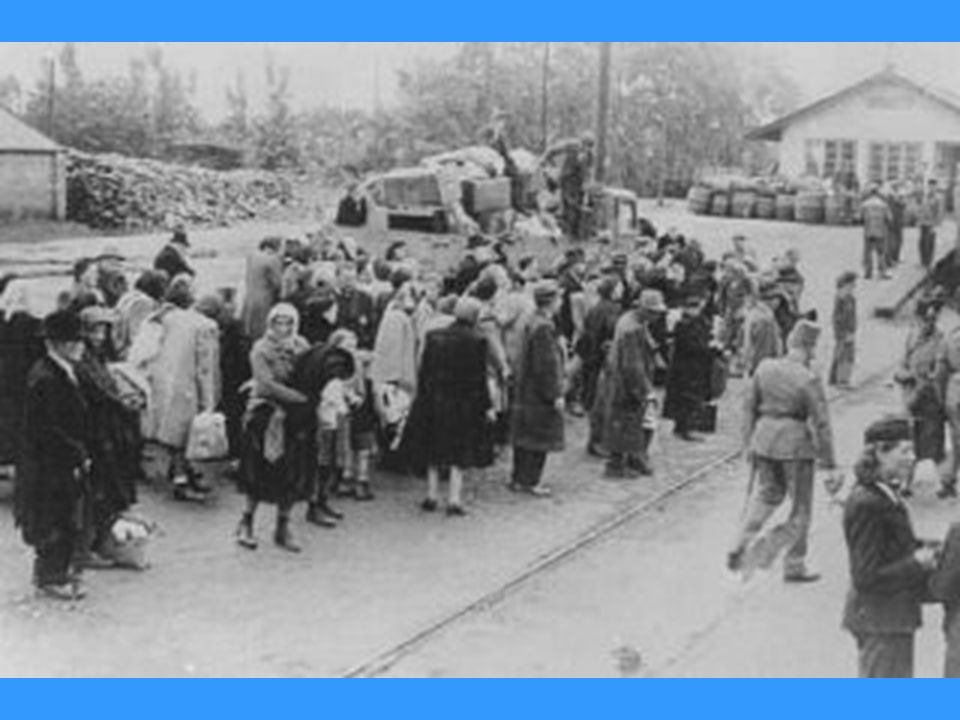Deportation of Jews. Koszeg, Hungary, July 1944.