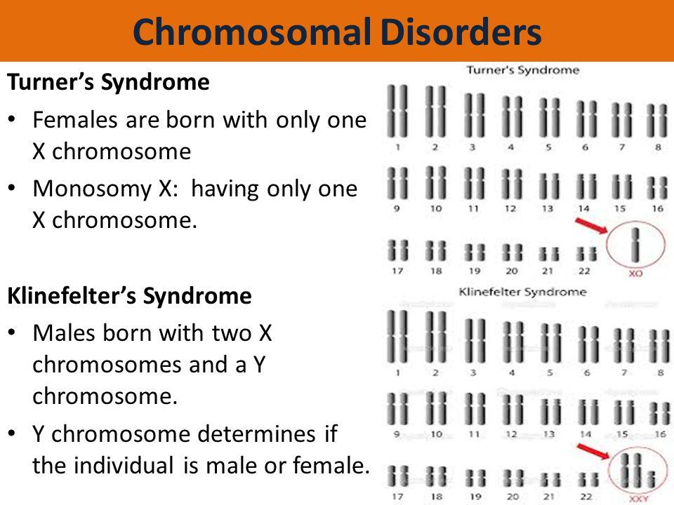 Chromosomal Disorders