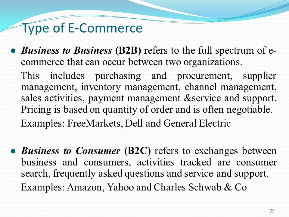 E Commerce Recent Topics In It Ppt Video Online Download