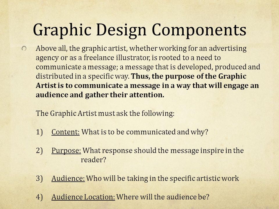 All Of The Following Are Principles Of Design Except : The elements and principles of art design ppt video